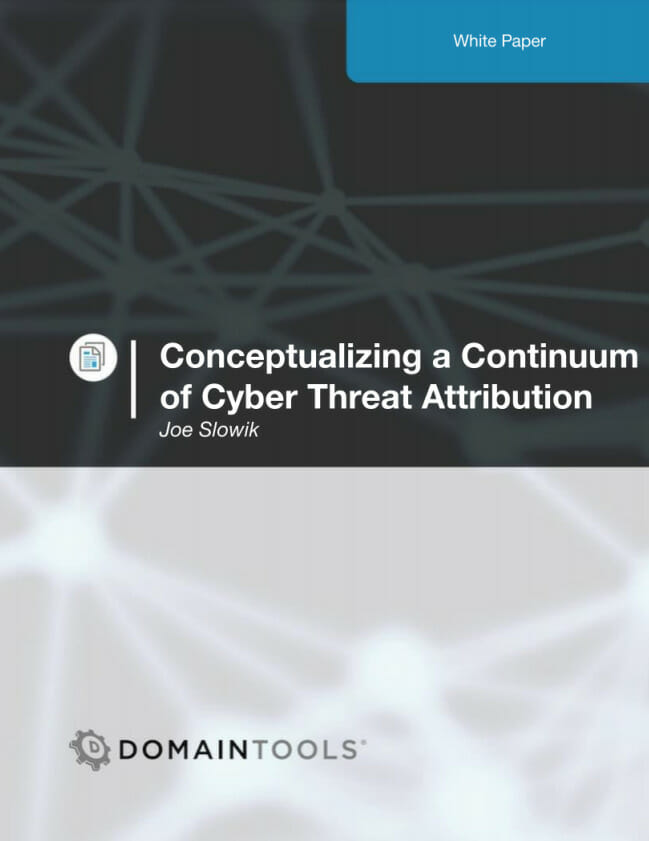 Conceptualizing a Continuum of Cyber Threat Attribution