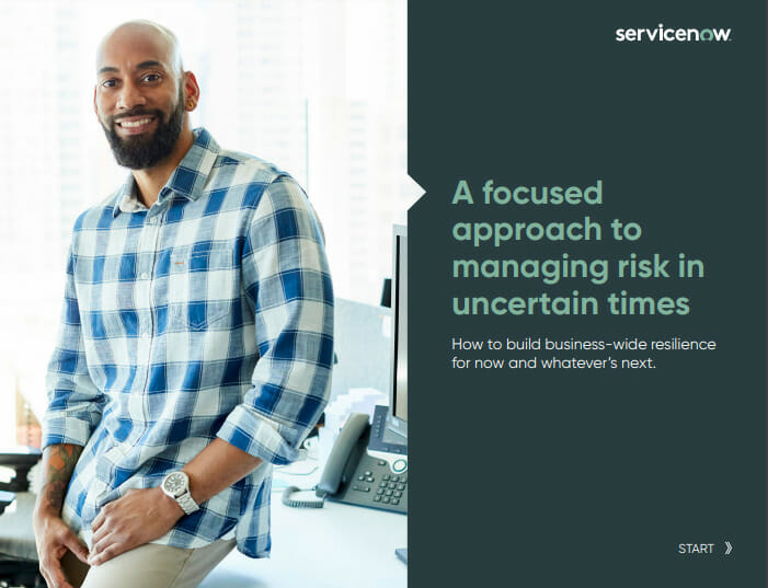 A Focused Approach to Managing Risk in Uncertain Times